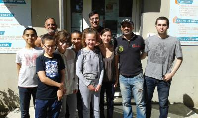 Saturday, April 08th, 2017  Exchange and Share with the children of the Community center from Orel to AVIGNON